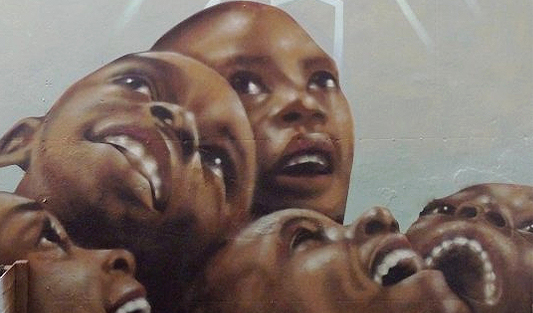 looking-up – Martin Travers Mural
